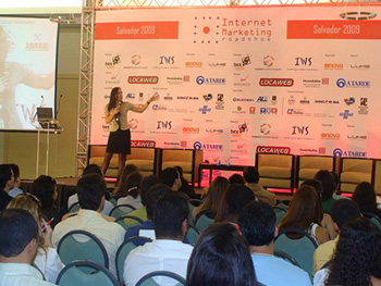 Martha Gabriel - IMRS 2009 in Salvador